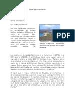 Las islas Galápagos.docx