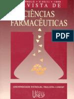 00618 - Revista de Ciˆncias Farmacˆuticas - v. 20(1) - 1999.pdf