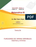 Sem04_func de Varias Maxi y Min