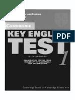 Cambridge KET 1 Book.pdf