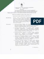KMA No.75. Th.2014 - Perubahan KMA No.99 Th.2013 - Penetapan Blangko N, NA, NB, DN, NR
