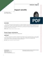 Ortodoncia Lingual Sencilla