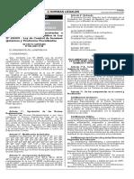 D. S Nº 092-2007-PCM