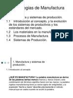 Estrategia de Manufactura