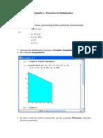Derivatives Mathematica