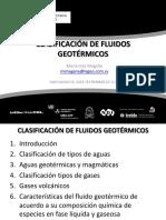 Clasificación de Fluidos Geotérmicos Presentación 140916