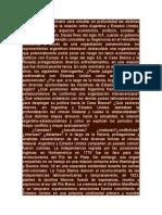 El Objetivo Del Seminario Será Estudiar en Profundidad Las Distintas Etapas Históricas de La Relación Entre Argentina y Estados Unidos