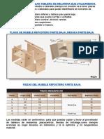 Alacena y Bajomesada 1.2x0.73