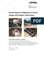 MUELLER 2009 Decentralised Co-Digestion of Faecal Sludge With Organic Solid Waste