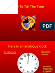 How to Tell the Time (1)