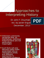 Historiographical Schools