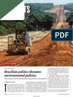 Brazilian Politics Threaten