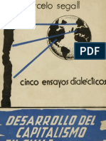 Marcelo Segall - Desarrollo Del Capitalismo en Chile