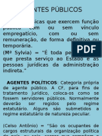 AGENTES PÃsBLICOS