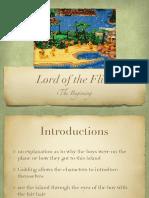 lotf - beginning