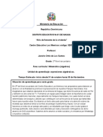 Ministerio de Educación Planificacio de Secundaria 2
