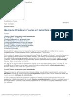 Gestiona Windows 7 Como Un Auténtico Experto · Pcactual