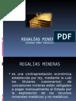 Regalías mineras