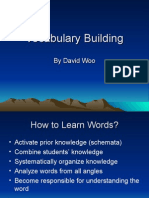Presentation - Vocabulary Building