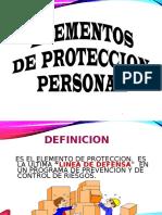Elementos de Proteccion Personal