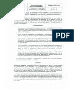 Acuerdo 007 de 2014