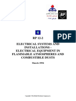 Electrical Systems and Inst Electrical Equipm RP12-2
