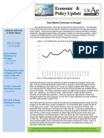October 2016 Economic and Policy Update