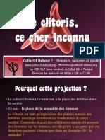 Le clitoris, ce cher inconnu