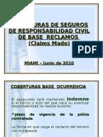 Aspectos Legales y Jurisprudenciales Coberturas Claims Made Ricardo Li Rosi