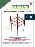 Manuale 12 Puntelli e Torri Tralicciate in Alluminio-Ver 01-13-ESP