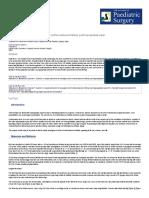 A Simple Procedure for Management of Urethrocutaneous Fistulas; Post-hypospadias Repair _S Mohamed, N Mohamed, T Esmael, Sh Khaled, African Journal of Paediatric Surgery (AJPS)