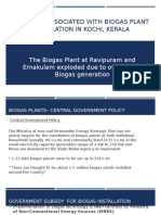 Problems Associated With Biogas Electricity Generation in India