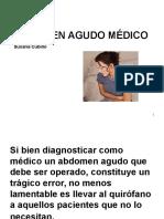 Abdomen Agudo Médico
