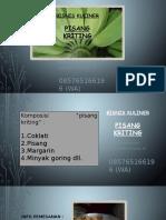 085765166196 (im3) Pisang Kriting
