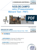 Intro. geotécnica Ensaio PMT