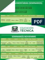 Guias Complementarias (Seminarios) Noviembre 2016