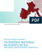 polticaspublicasparaopatrimonioimaterialnaeuropadosul_dgpc2013