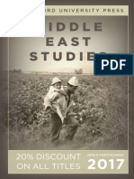 Middle East Studies 2017 catalog