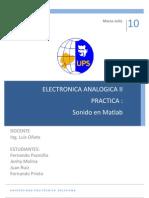 Informe Sonido Matlab