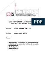 2do Informe de Laboratorio de Suelos