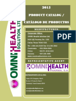 Omni Health Catalago