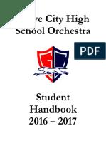 2016-2017 gchs orchestra handbook