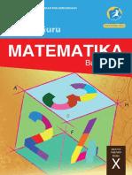 Kelas 10 SMA Matematika Guru 2016