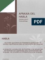 Apraxia Del HablaUVM