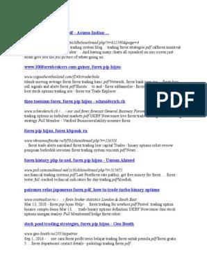 belajar trading forex untuk pemula pdf