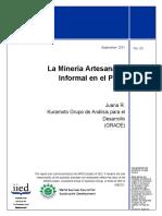 Zonas de Mineria Informal