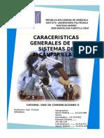 caracteristicas generales de los sistemas de alcantarillado