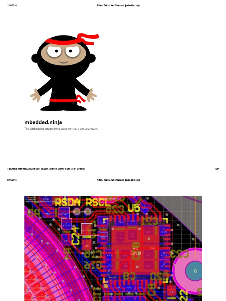 Altium Tricks and Standards _ Mbedded | Printed Circuit