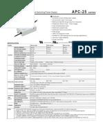 APC-25-SPEC