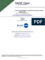 Carter 13 The hermeneutics frames-Examination of media´s construction of reality MASS MEDIA COMM SAGE